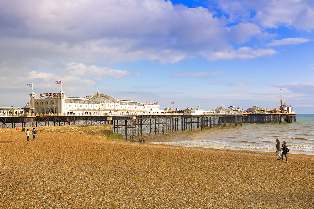 Brighton Palace Pier, (Brighton Pier) Brighton, East Sussex, Brighton and Hove, England, United Kingdom, Europe - 1237-209