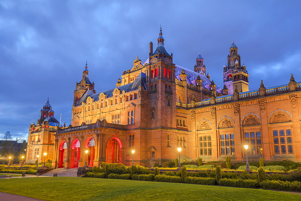 Kelvingrove Art Gallery and Museum, Glasgow, Scotland, United Kingdom, Europe - 1237-211