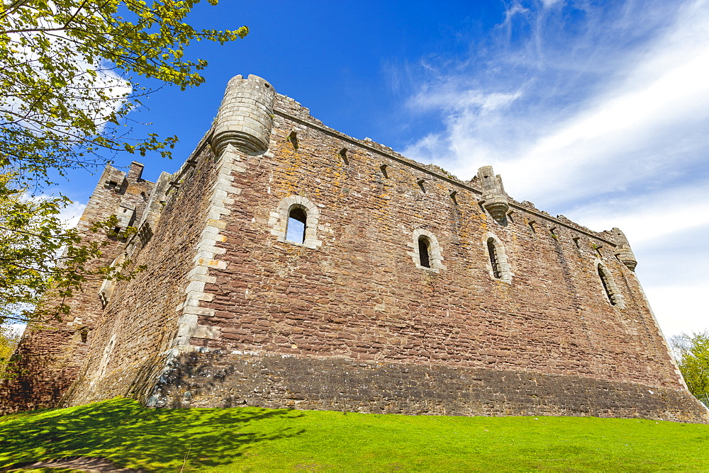 Doune Castle, Stirling district, Scotland, United Kingdom, Europe - 1237-243