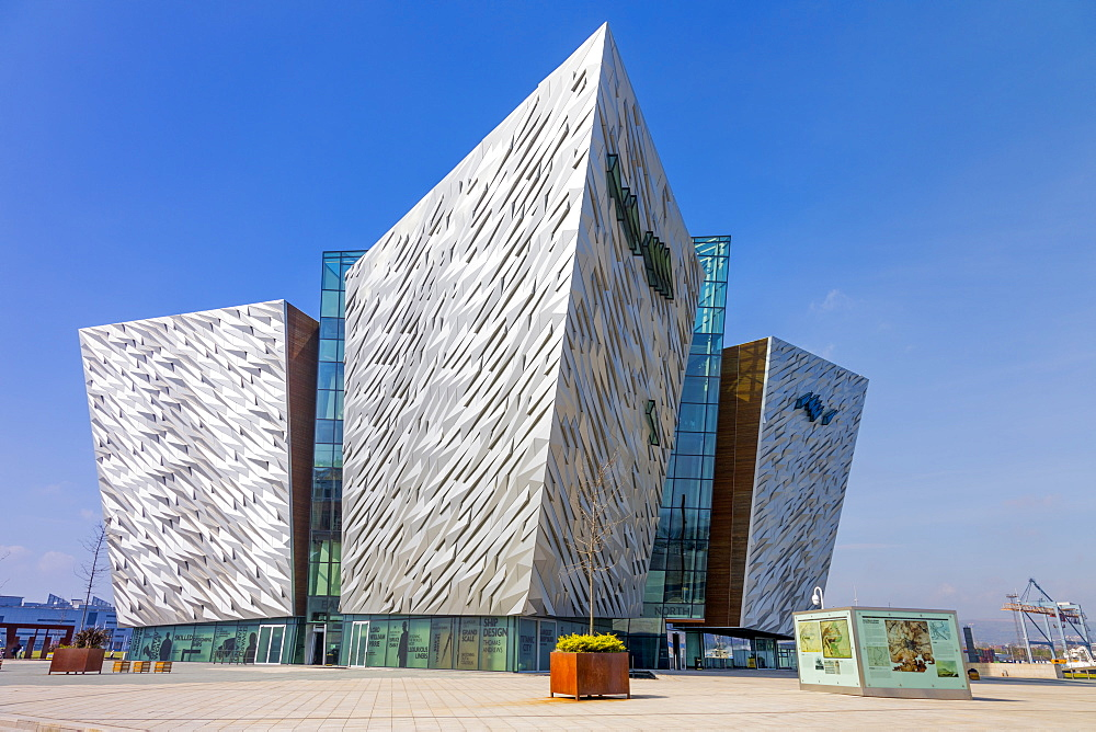 Titanic Belfast, Belfast, Ulster, Northern Ireland, United Kingdom, Europe