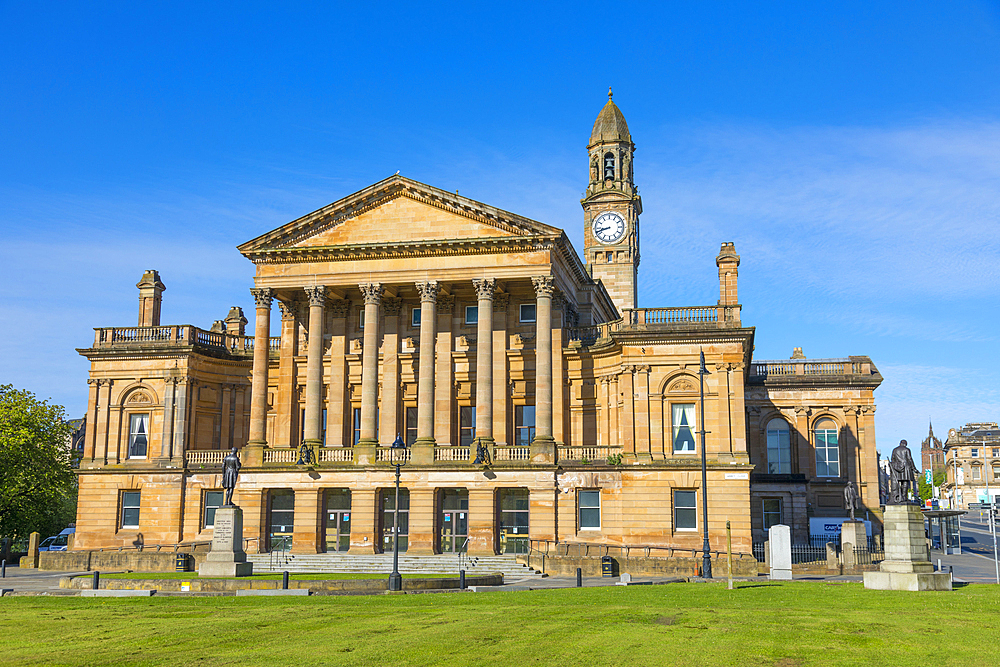 Paisley Town Hall, Renfrewshire, Scotland, United Kingdom, Europe