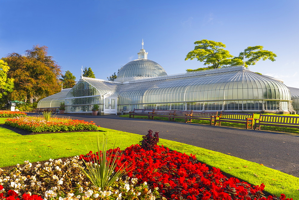 Kibble Palace, Botanic Gardens, Glasgow, Scotland, United Kingdom, Europe.