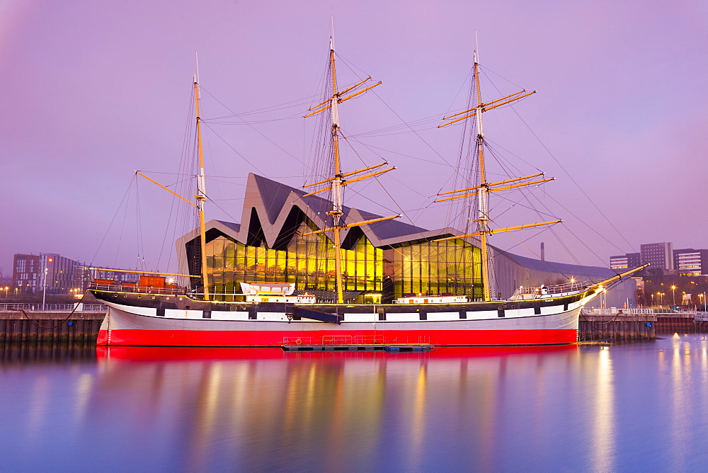 The Glenlee Ship and Riverside Museum, Glasgow, Scotland, United Kingdom, Europe