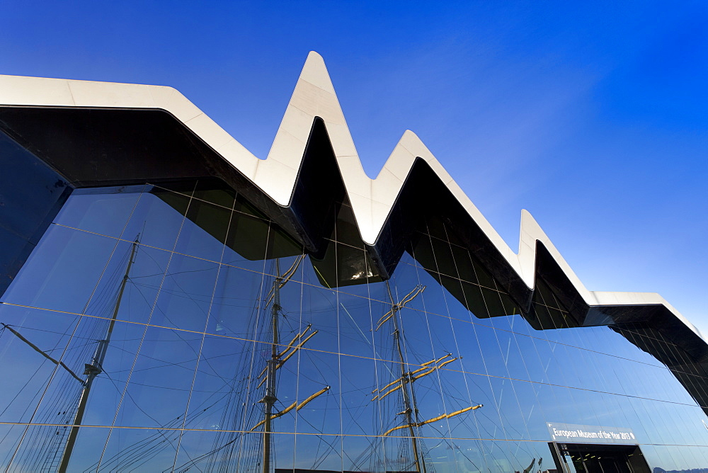 Riverside Museum, River Clyde, Glasgow, Scotland, United Kingdom, Europe