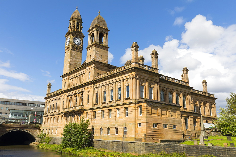 Paisley Town Hall, Paisley, Renfrewshire, Scotland, United Kingdom, Europe - 1237-82