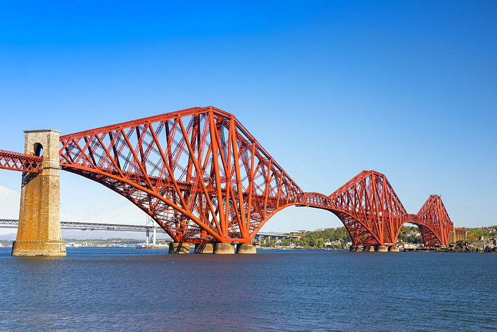 Forth Railway Bridge, UNESCO World Heritage Site, Scotland, United Kingdom, Europe - 1237-84