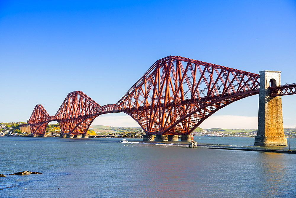 Forth Railway Bridge, UNESCO World Heritage Site, Lothian, Scotland, United Kingdom, Europe