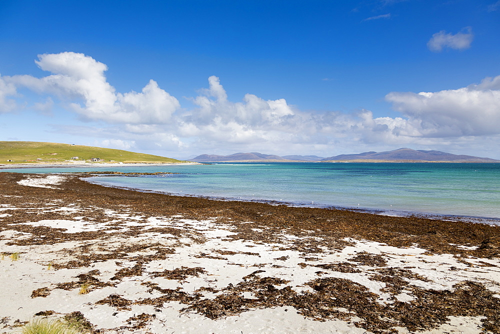East Beach, Berneray, North Uist, Outer Hebrides, Scotland, United Kingdom, Europe - 1237-87