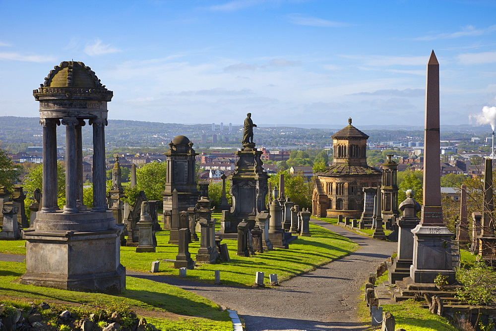 Glasgow Necropolis, Glasgow, Scotland, United Kingdom, Europe