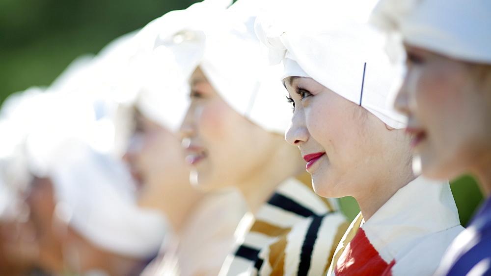 Katsura ladies, Jidai festival, Kyoto, Japan, Asia - 1238-144