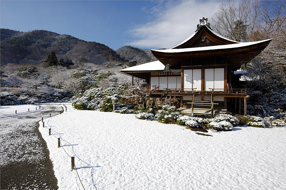 Winter in Okochi-sanso villa, Kyoto, Japan, Asia - 1238-34
