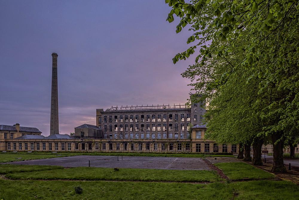 Flax Mills, Sion Mills, County Tyrone, Ulster, Northern Ireland, United Kingdom, Europe