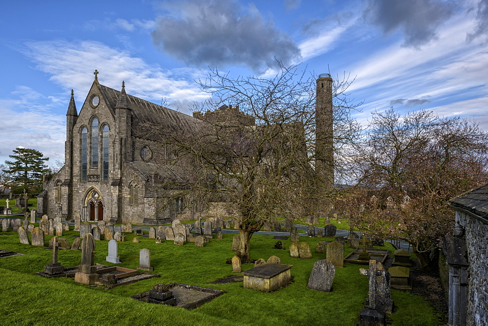 St. Canice's Cathedral, Kilkenny, County Kilkenny, Leinster, Republic of Ireland, Europe