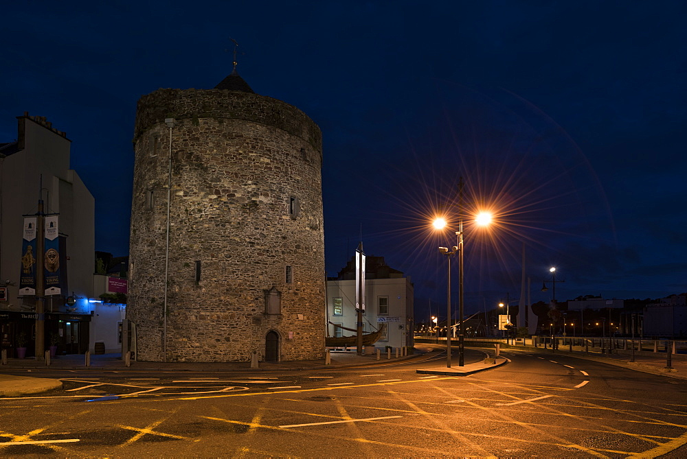 Reginald's Tower, Waterford, County Waterford, Munster, Republic of Ireland, Europe