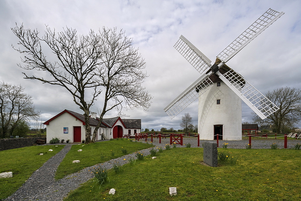 Elphin Windmill, County Roscommon, Connacht, Republic of Ireland, Europe