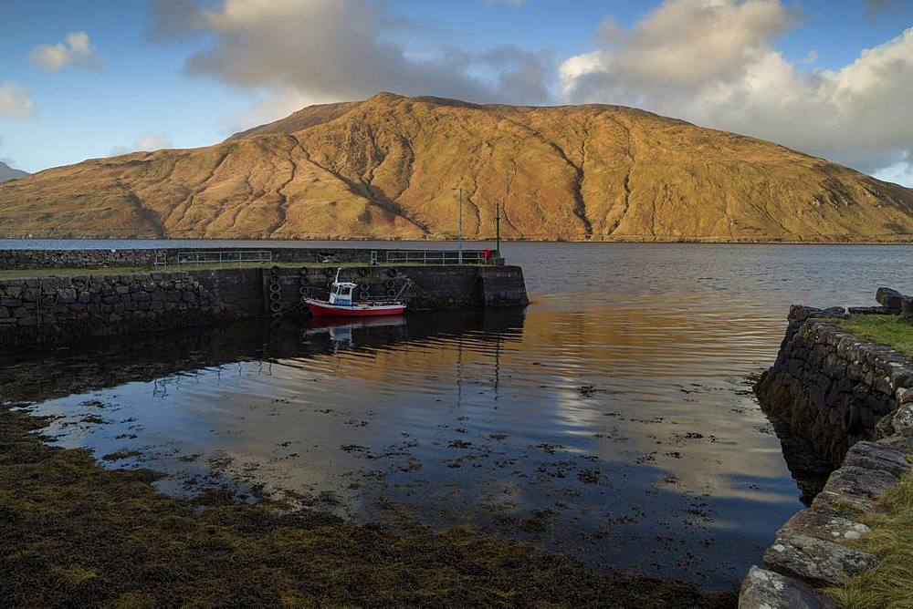 Killary Harbour, County Galway, Connacht, Republic of Ireland, Europe