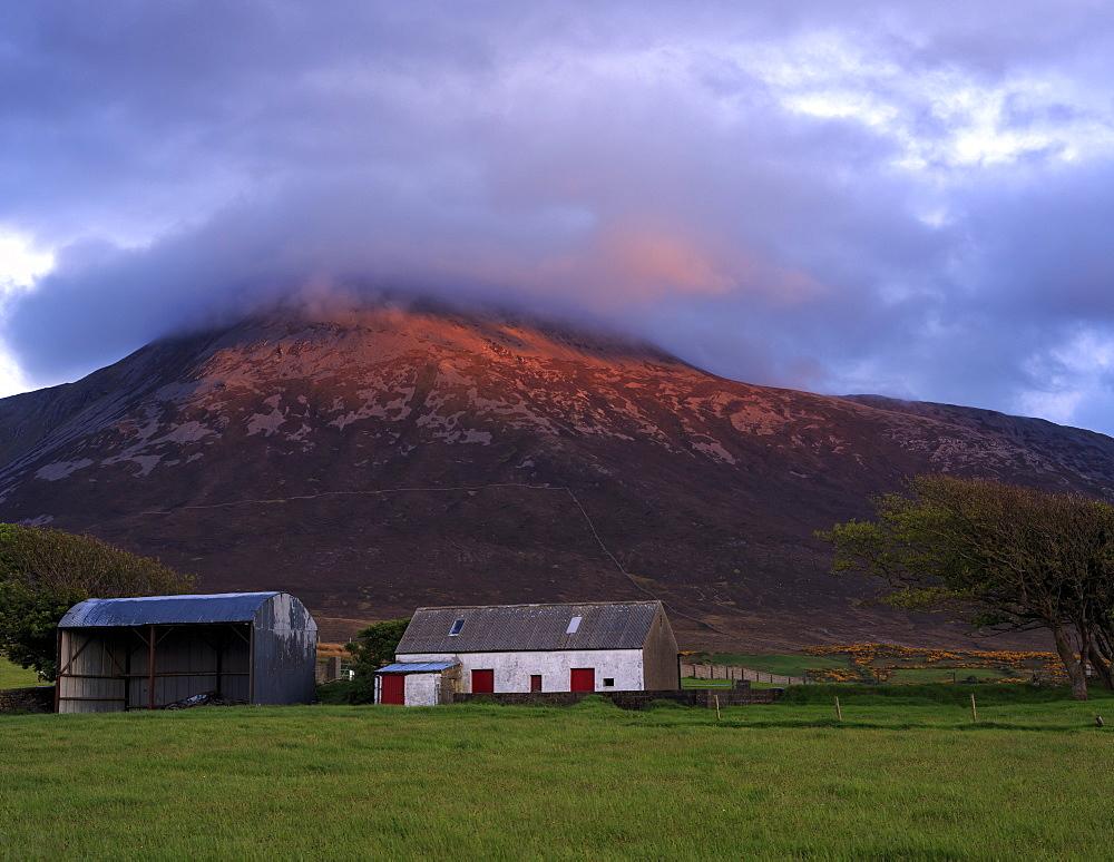 Croagh Patrick, County Mayo, Connacht, Republic of Ireland, Europe