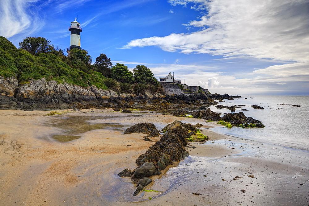 Inishowen Lighthouse, Inishowen, County Donegal, Ulster, Republic of Ireland, Europe