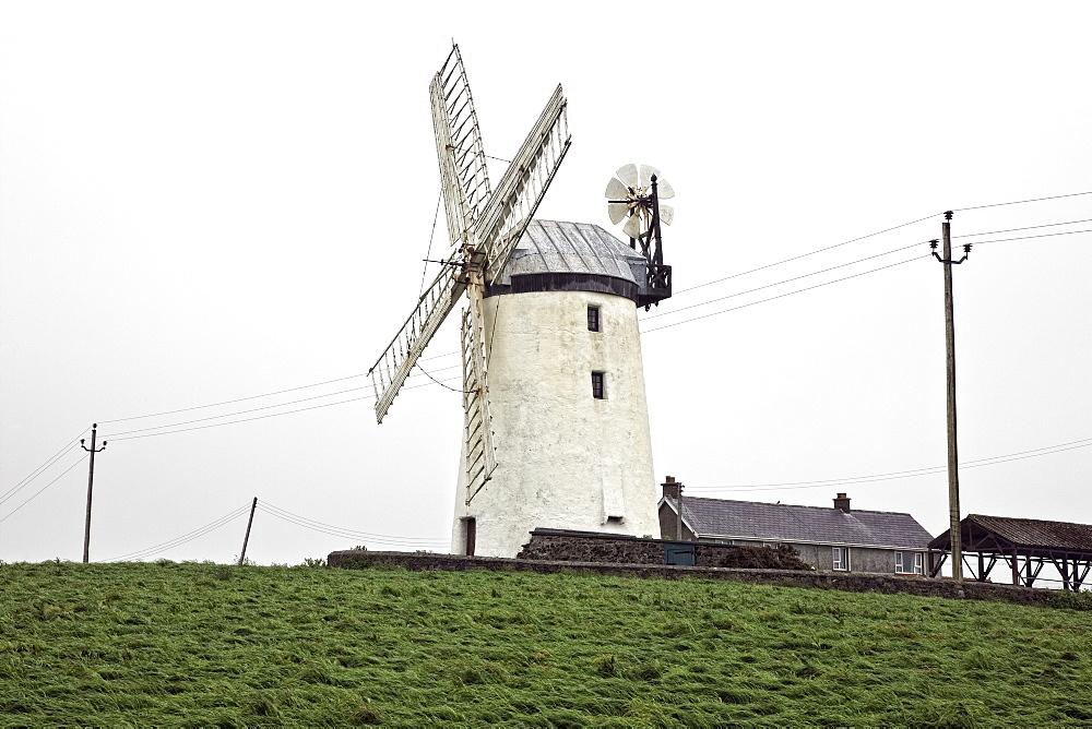 Ballycopeland Windmill, County Down, Northern Ireland