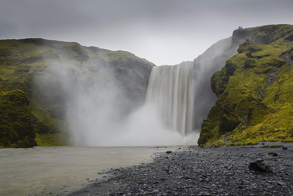 Skogafoss waterfall, Iceland, Polar Regions - 1241-24