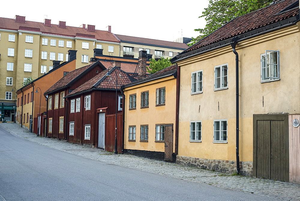 Historic homes in Nytorget, Sodermalm, Stockholm, Sweden