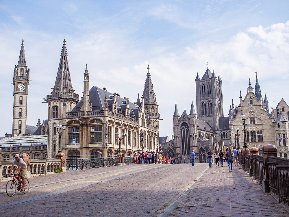 Ghent, Belgium, Europe - 1242-147