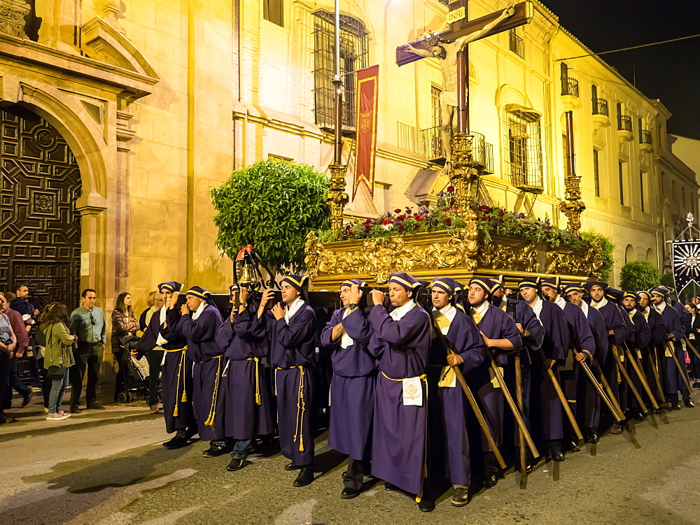 Antequera, known for traditional Semana Santa (Holy Week) processions leading up to Easter, Antequera, Andalucia, Spain, Europe - 1242-163