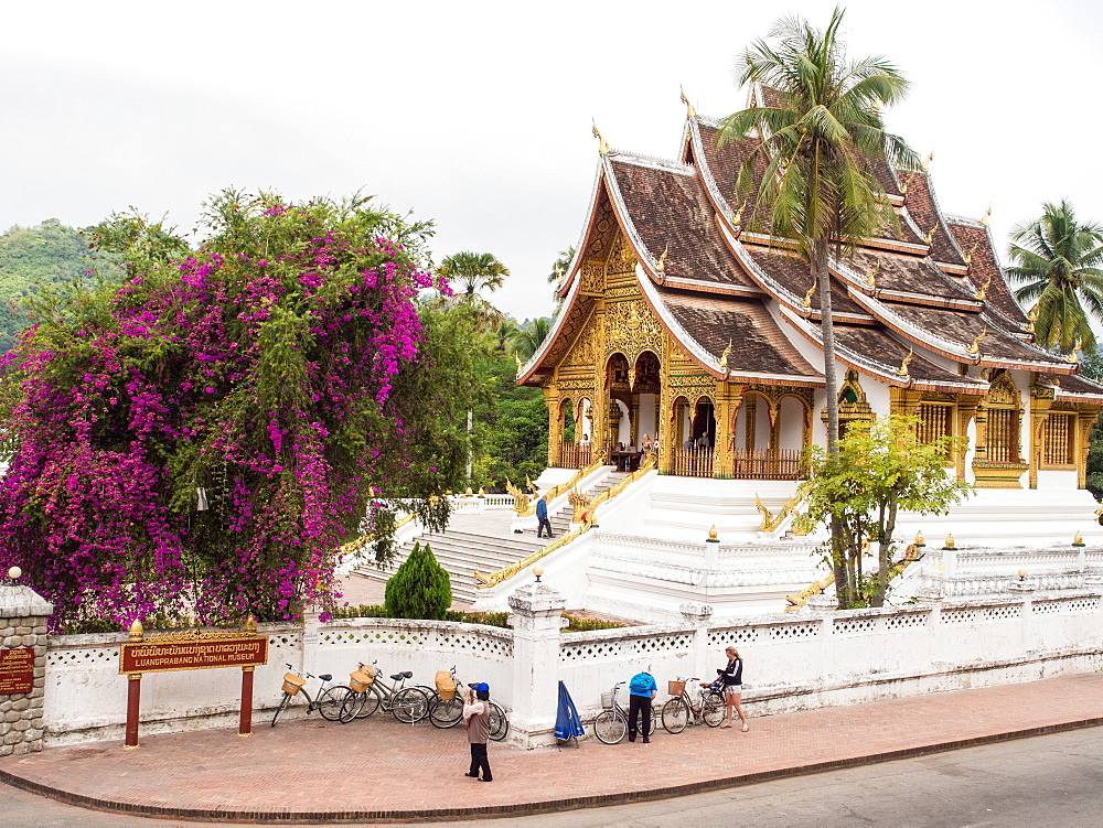 Haw Pha Bang temple, part of the National Museum complex, Luang Prabang, Laos, Indochina, Southeast Asia, Asia - 1242-210