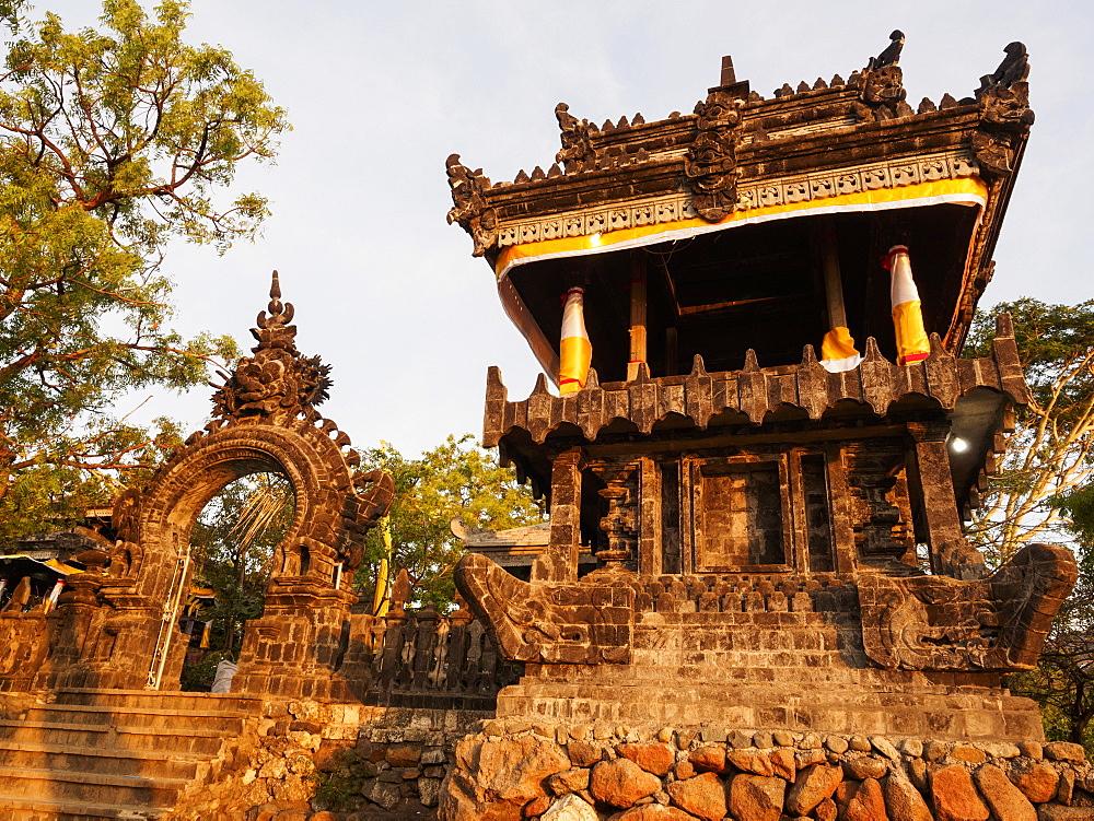Temple, Pemuteran, Bali, Indonesia, Southeast Asia, Asia