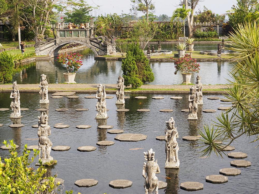 Tirta Gangga Royal Water Garden, Bali, Indonesia, Southeast Asia, Asia