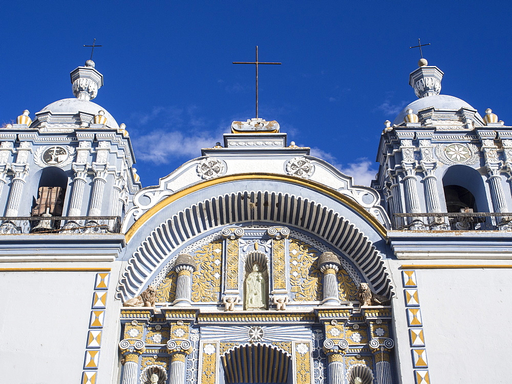 Santo Domingo church in the town of Ocotlan de Morelos, State of Oaxaca, Mexico, North America