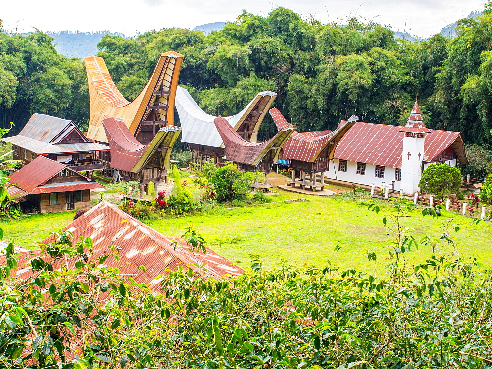 Small village, Tana Toraja, Sulawesi, Indonesia, Southeast Asia, Asia