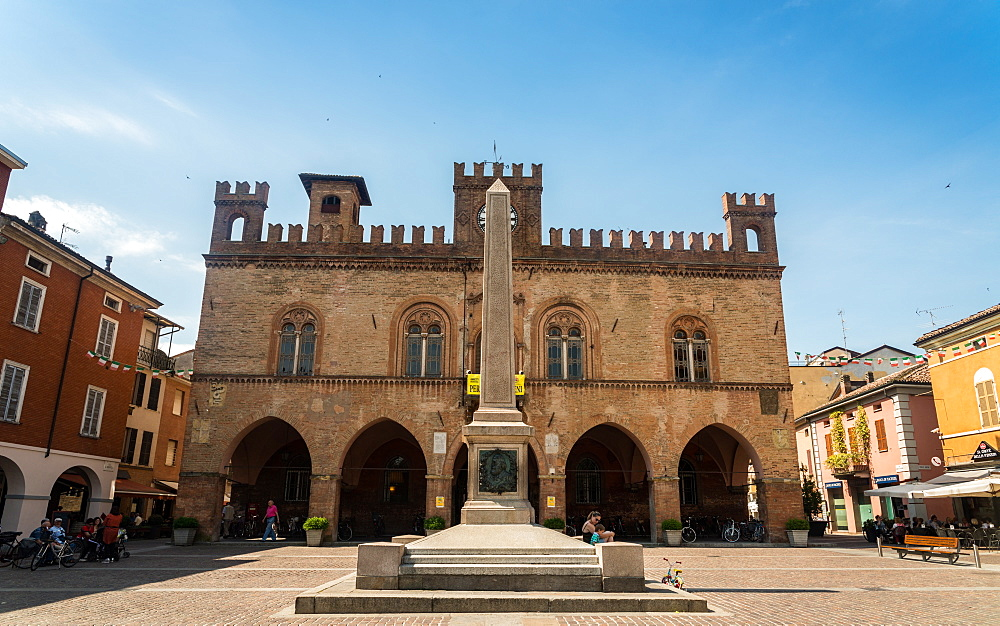 Town Hall in Fidenza, Emilia Romagna, Italy, Europe