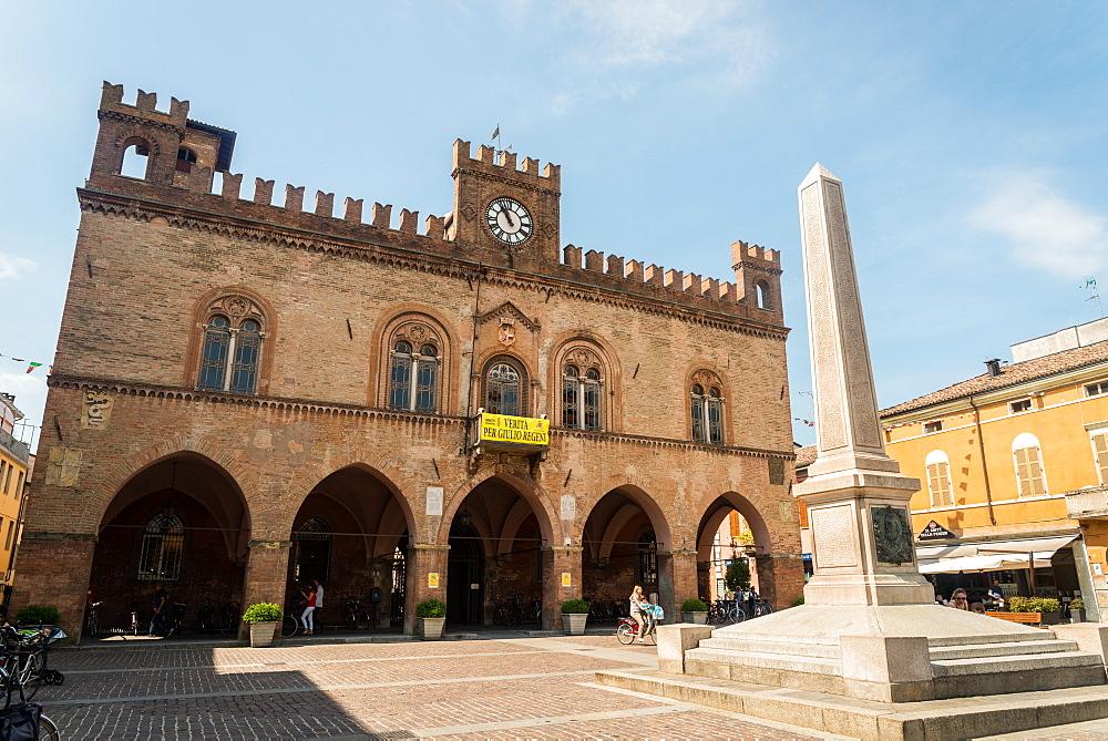 Town Hall, Fidenza, Emilia-Romagna, Italy, Europe - 1243-145
