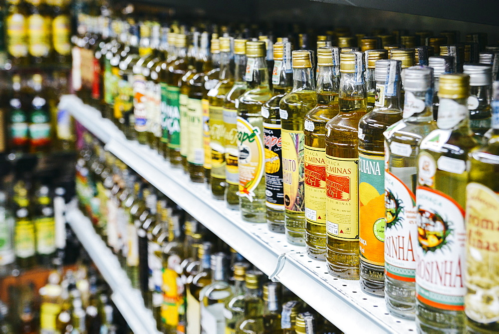 Cachaca is a distilled spirit made from fermented sugarcane juice and a popular alcoholic beverage throughout Brazil, South America