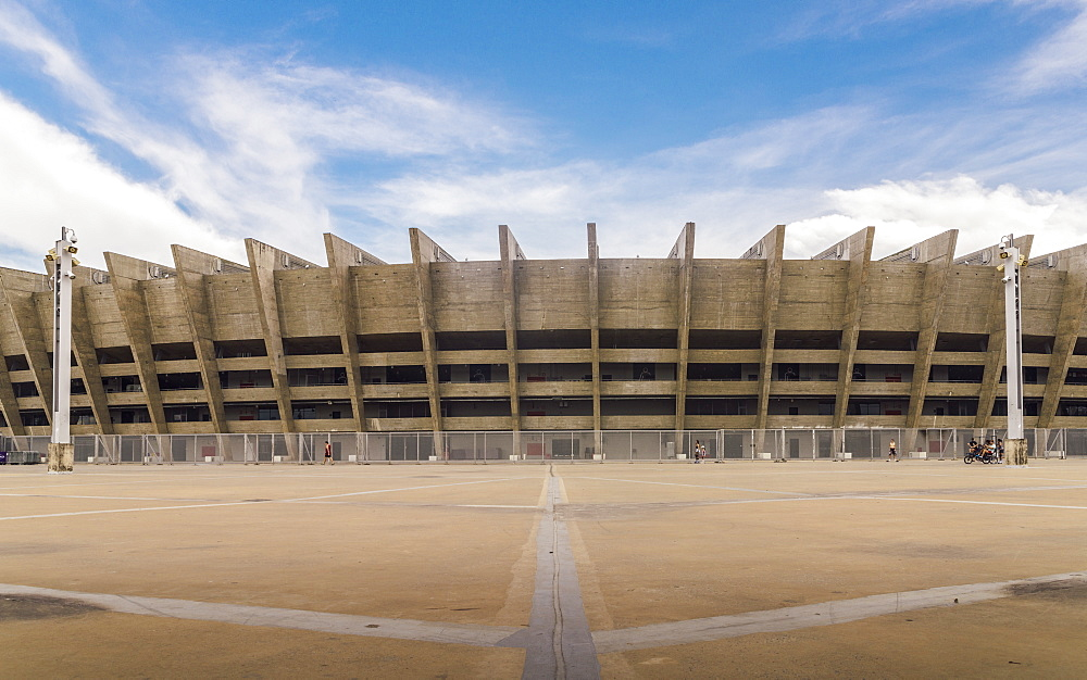 Mineirao is the largest football stadium in the state of Minas Gerais, Belo Horizonte, Minas Gerais, Brazil, South America