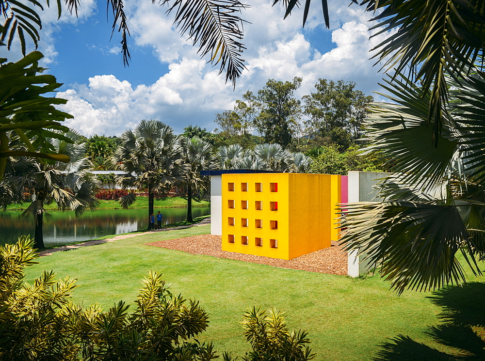 Inhotim Institute is a museum and contemporary art museum as well as a botanic garden located in Minas Gerais, Brazil