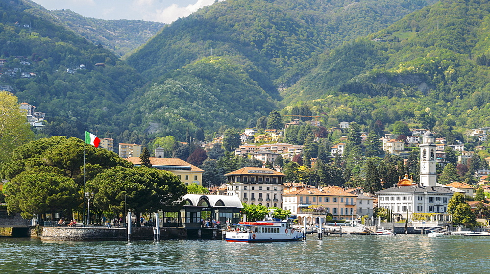 Beautiful Italian villas on waterfront of Lake Como, Italy - 1243-253
