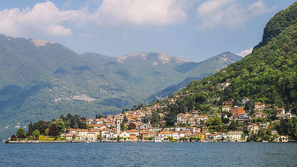 Beautiful Italian villas on waterfront of Lake Como, Italy - 1243-254