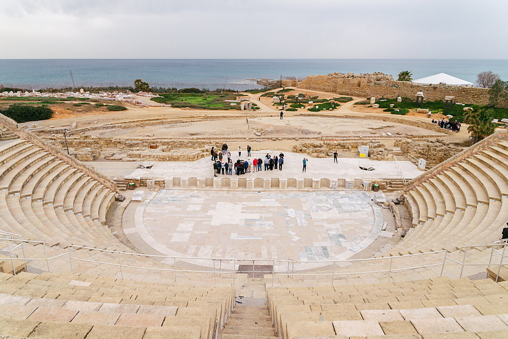 The ancient amphitheatre in Caesarea - 1243-59