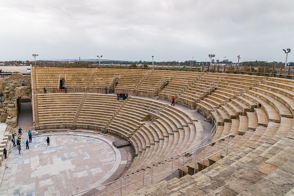 The ancient amphitheatre in Caesarea - 1243-60