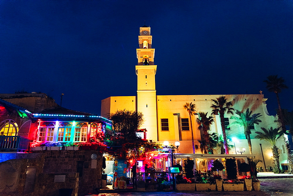 Jaffa, Israel at night - 1243-75