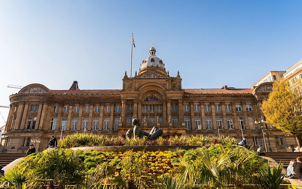 Victoria Square, a pedestrianised public square in Birmingham, England, United Kingdom, Europe - 1243-88