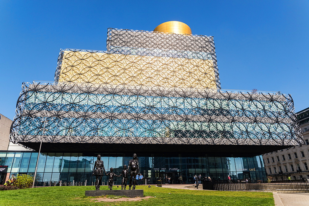 The Library of Birmingham, a public library in Birmingham, England, United Kingdom, Europe