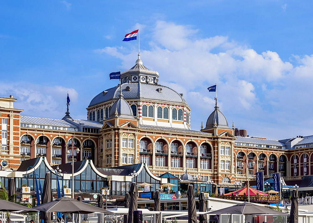 Kurhaus of Scheveningen, The Hague, South Holland, The Netherlands, Europe