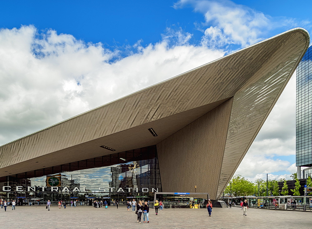 Rotterdam Centraal Station, Rotterdam, South Holland, The Netherlands, Europe - 1245-1062