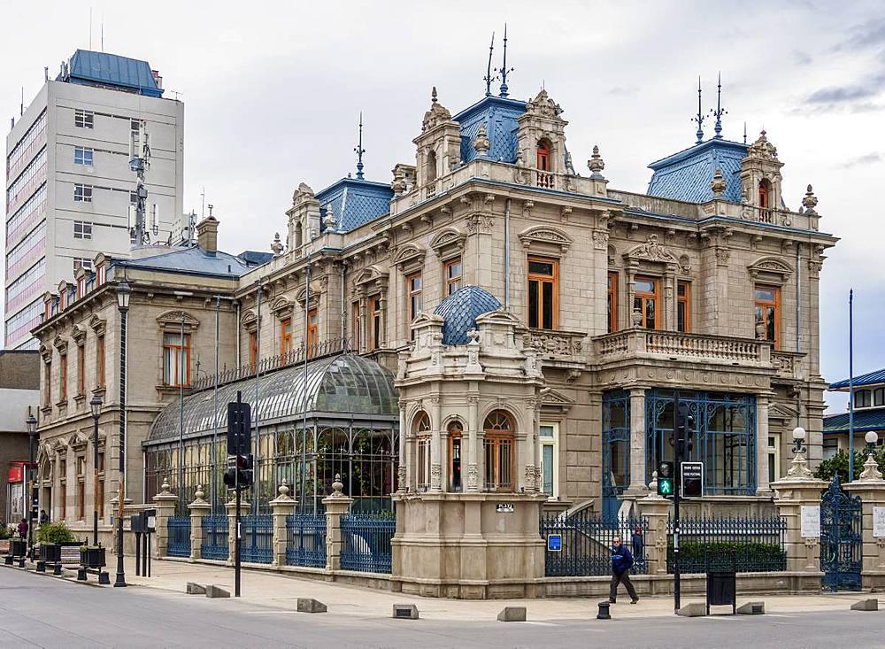 Sara Braun Palace, Punta Arenas, Magallanes Province, Patagonia, Chile, South America