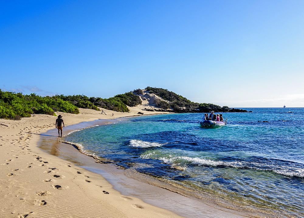 Beach in Sullivan Bay, Santiago or James Island, Galapagos, Ecuador - 1245-1311