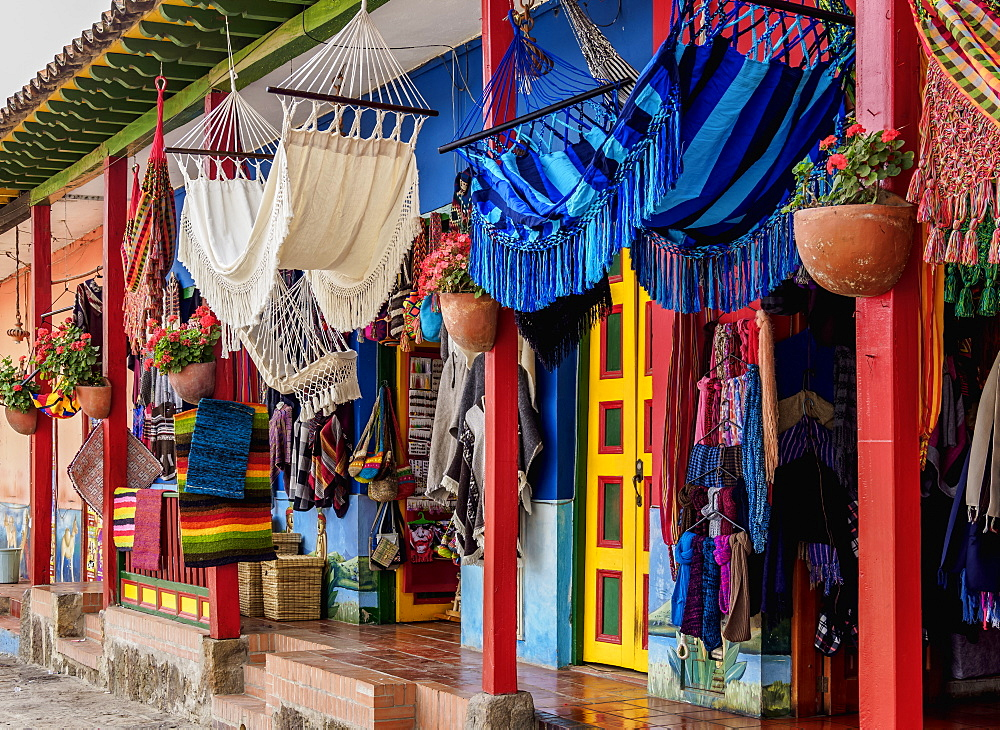 Handicrafts in Raquira, Boyaca Department, Colombia, South America