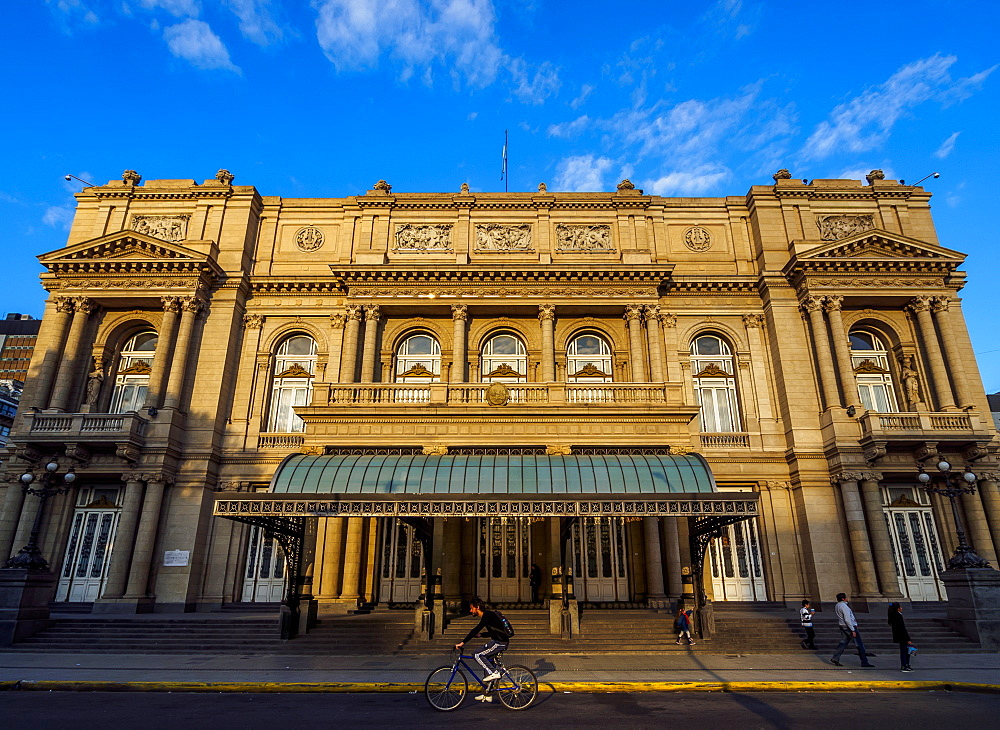 View of Teatro Colon, Buenos Aires, Buenos Aires Province, Argentina, South America